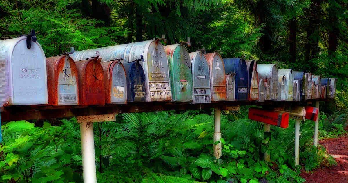 Cassette della posta, le email di una volta