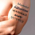 Tattoo sul braccio