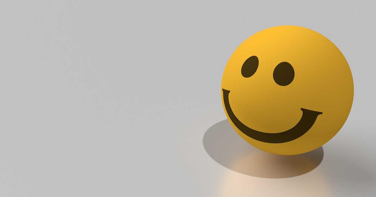 Emoji smile, faccina sorridente