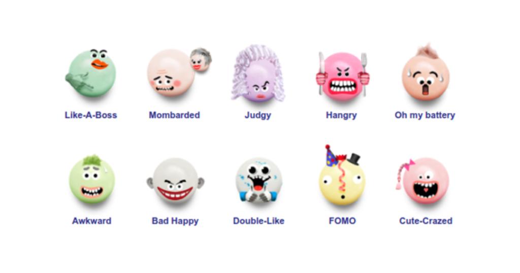 Mentos emoji