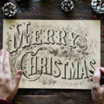 Scrittura di una lettera di Natale