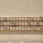 Cassette della posta con pubblicità
